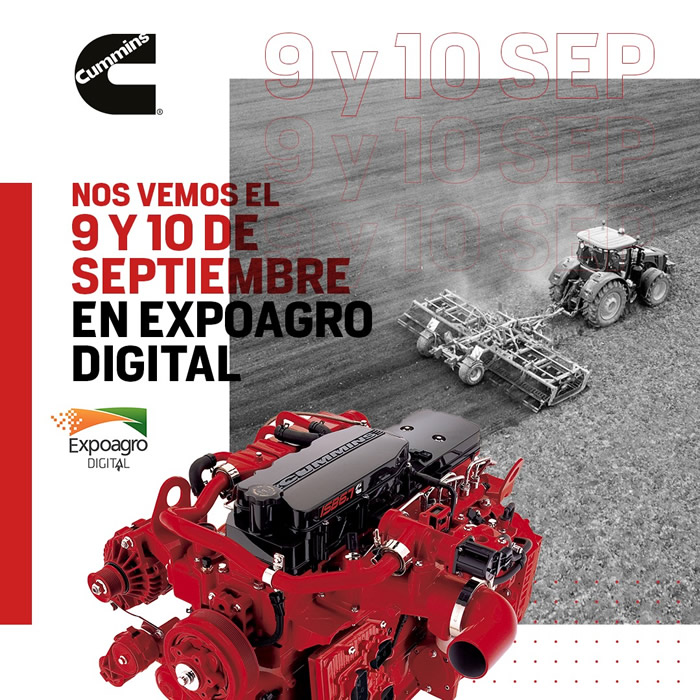 Cummins, Expoagro Digital 2020